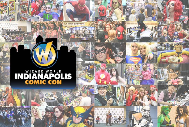 Wizard World Comic Con Indianapolis 2015 VIP Package