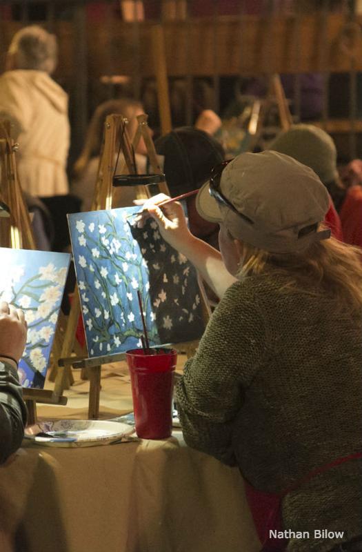 Art Seminar: Canvases & Cabernets