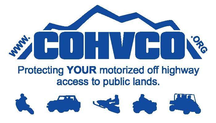 2016 COHVCO OHV Workshop-Scholarship