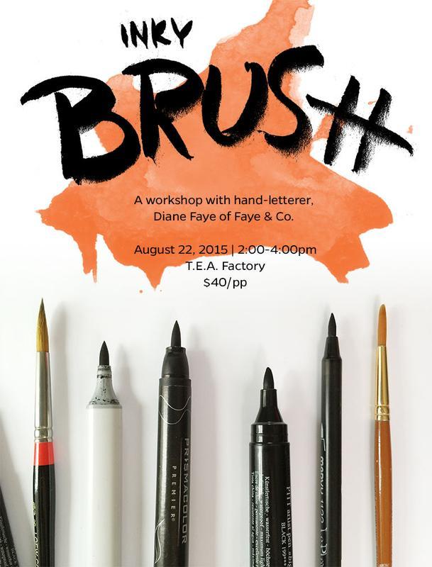 Faye & Co | Inky Brush