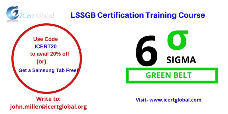 LSSGB Certification Classroom Training in Raleigh, NC