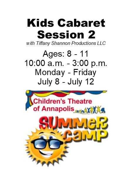 Kids Cabaret - Session 2