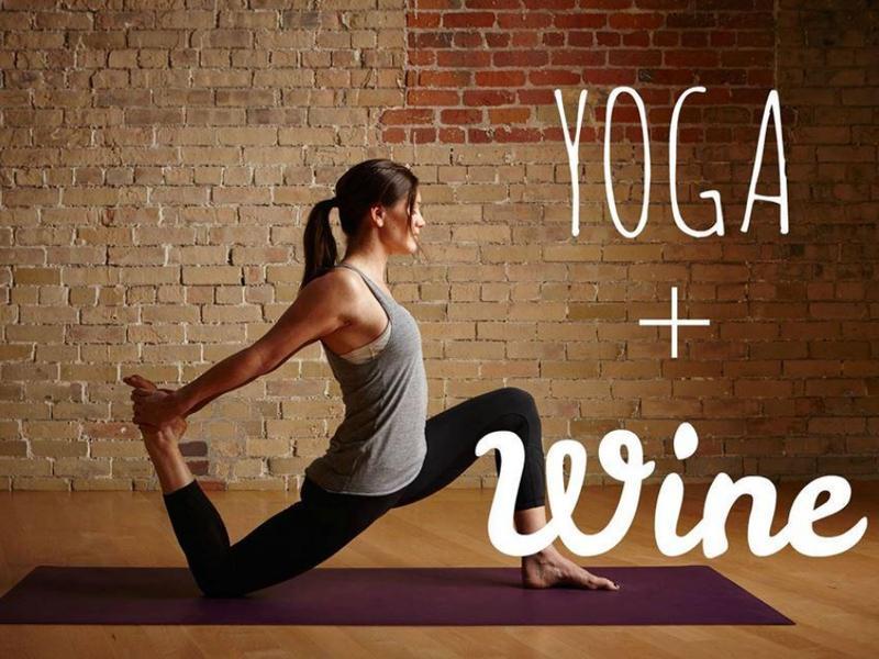 Friday Night Yoga Wine-Down