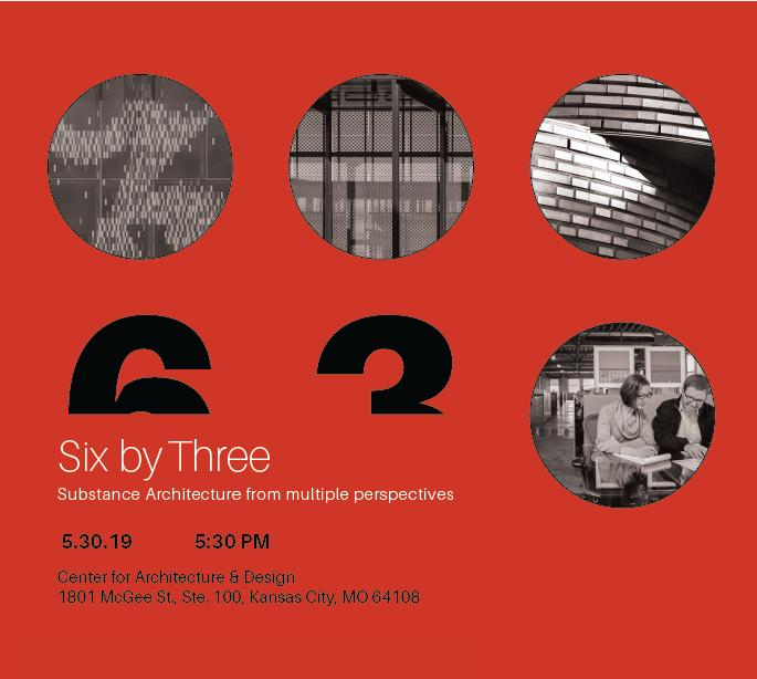 YAF Event | Six by Three: Substance Architecture from multiple perspectives
