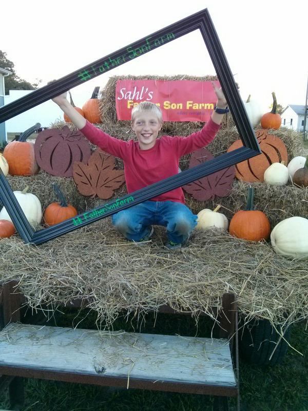 Father Son Farm Corn Maze
