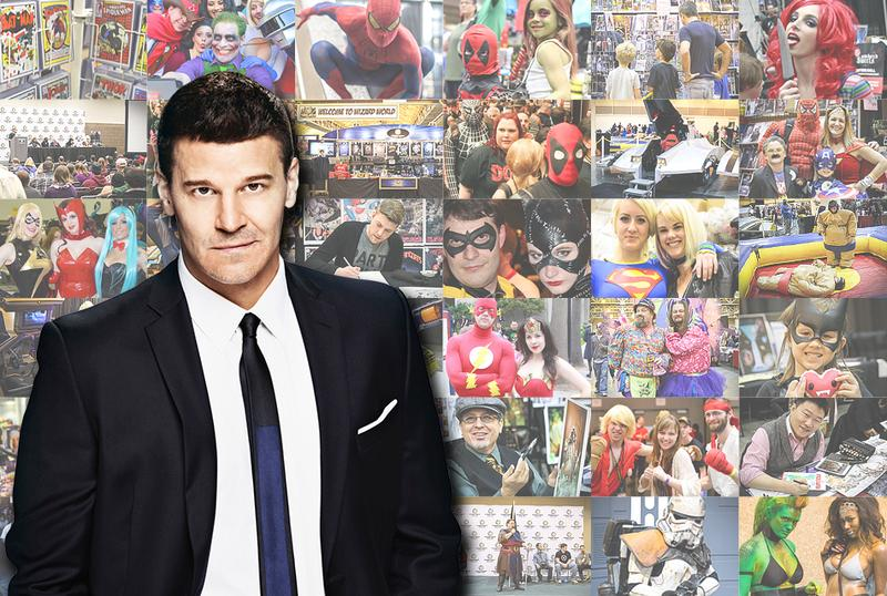 David Boreanaz VIP Experience @ Chicago Comic Con 2014