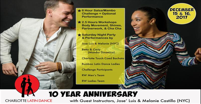 10 Year Anniversary with Melanie Castillo & José Luis (NYC)