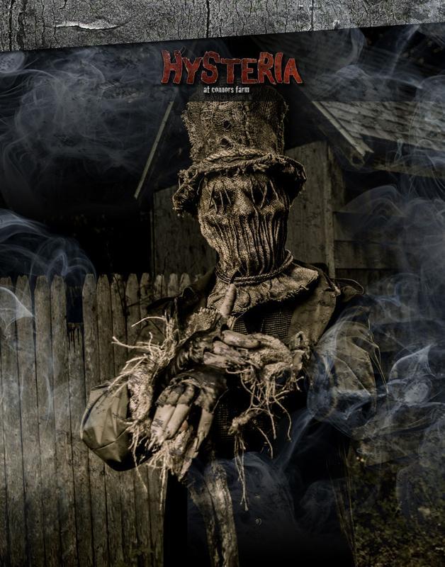 2014 HYSTERIA SCREAM PARK AT CONNORS FARM