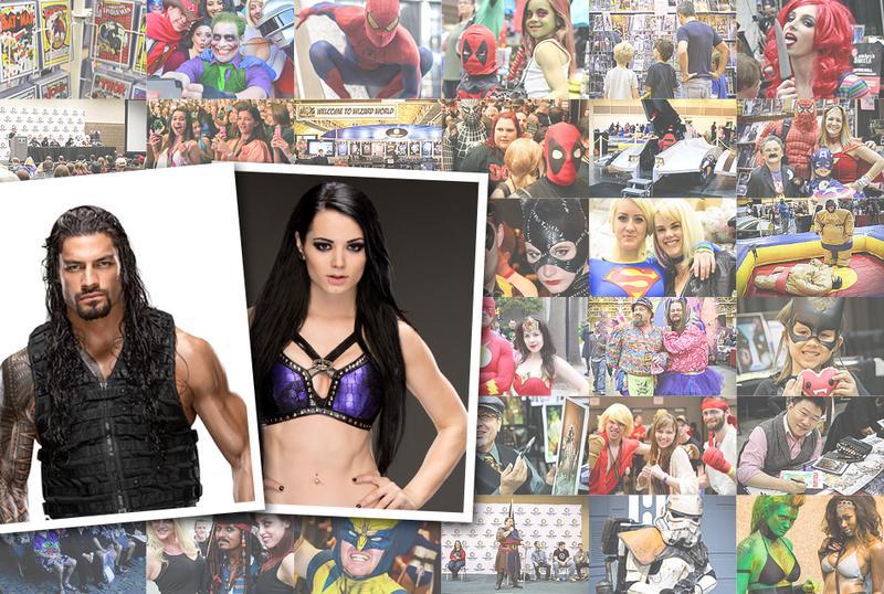 WWE® Roman Reigns™ & Paige™ Thursday DUAL VIP @ Philadelphia 2015