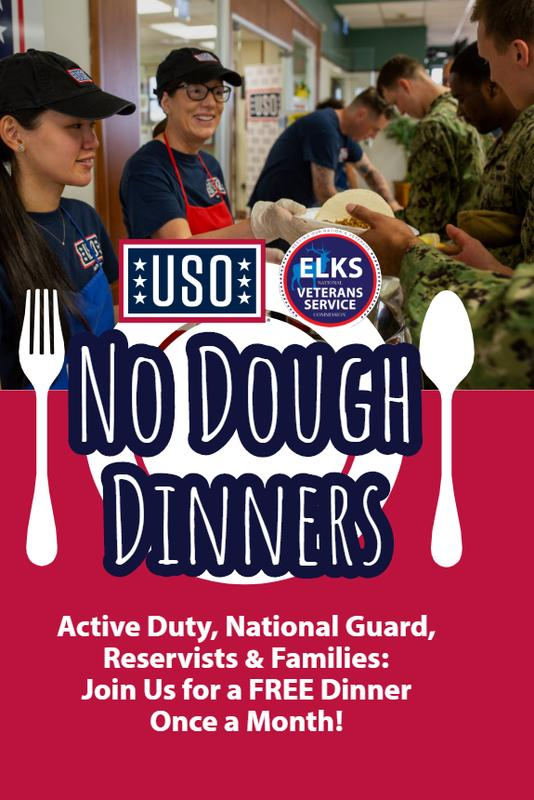 USO No Dough Dinner - Denver, CO