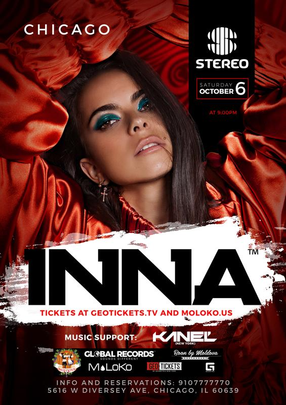 INNA (Live concert) in Chicago