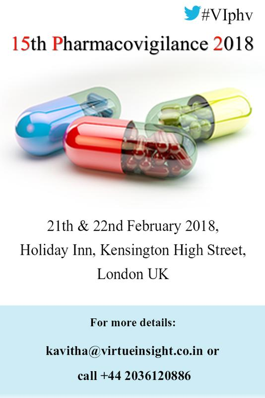 15th Pharmacovigilance 2018