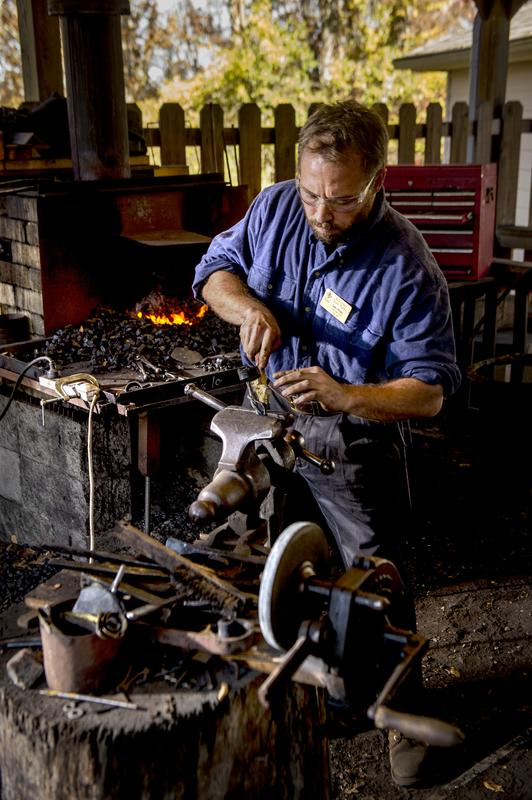 Beginning Blacksmithing - Forge a Leaf - August 14