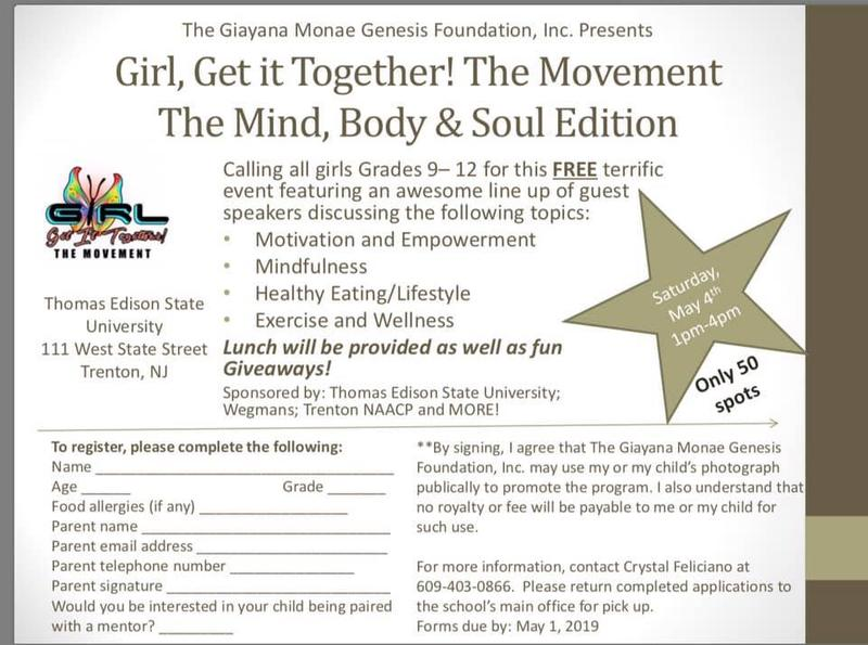 Girl, Get it Together, The Movement!  The Mind, Body and Soul Edition