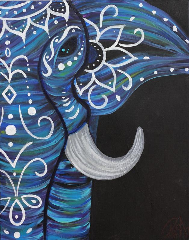 Boho Elephant 8/21 w/Robin
