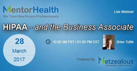 HIPAA - and the Business Associate 2017