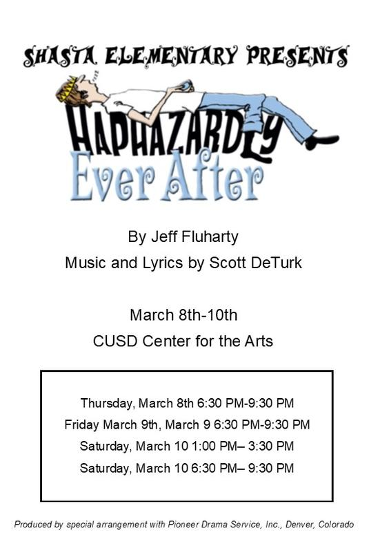 Haphazardly Ever After - The Musical!