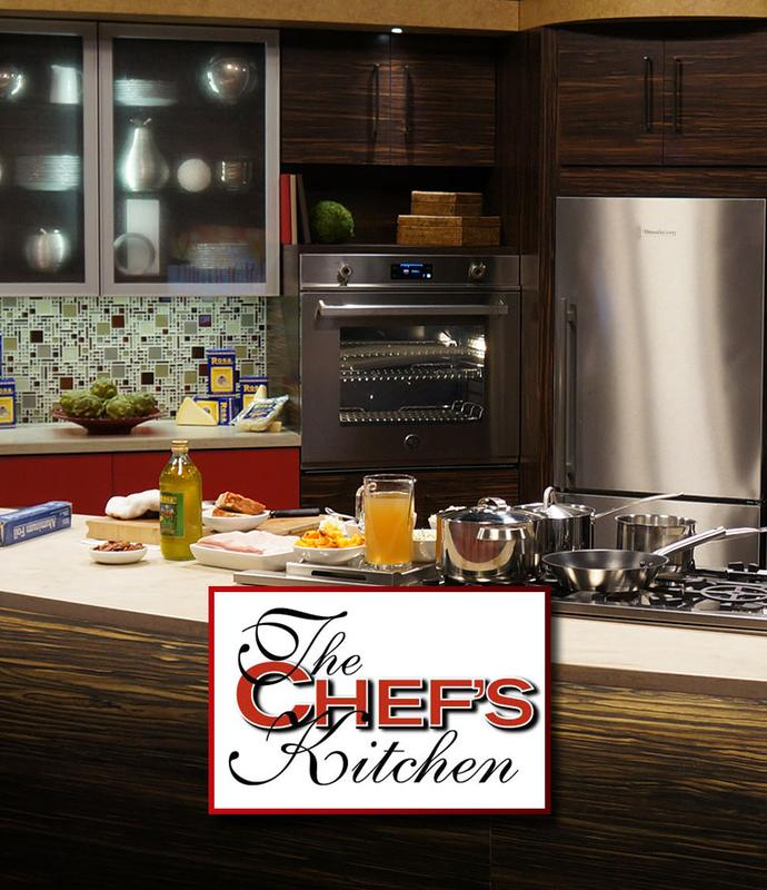 Taping of 'The Chef's Kitchen'