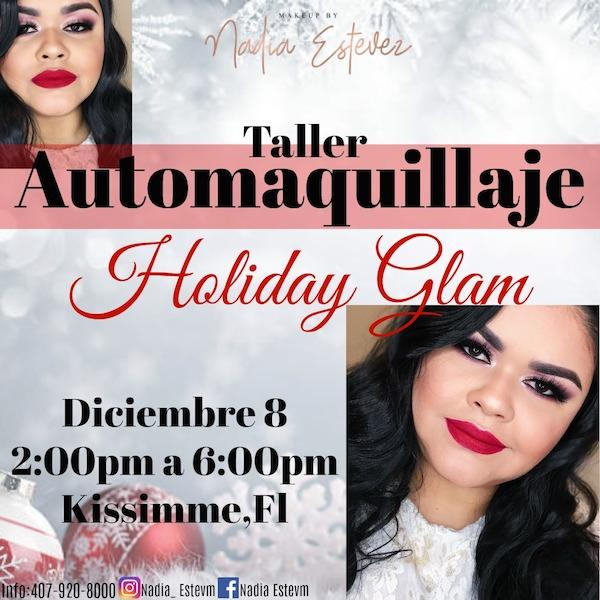 Taller Automaquillaje Holiday Glam
