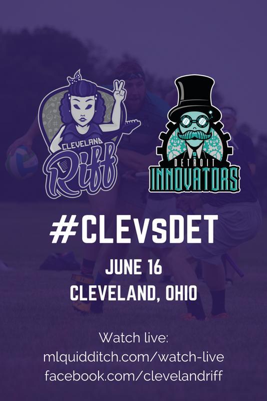 Cleveland Riff vs. Detroit Innovators