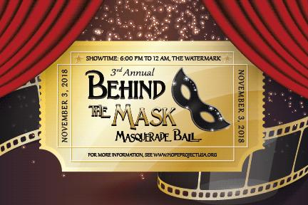 The 3rd Annual Behind the Mask Masquerade Ball