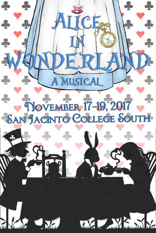 Pearland Little Theatre presents Alice in Wonderland: A Musical
