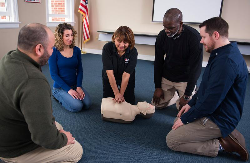 Adult and Pediatric First Aid/CPR/AED (Blended Online + Classroom)