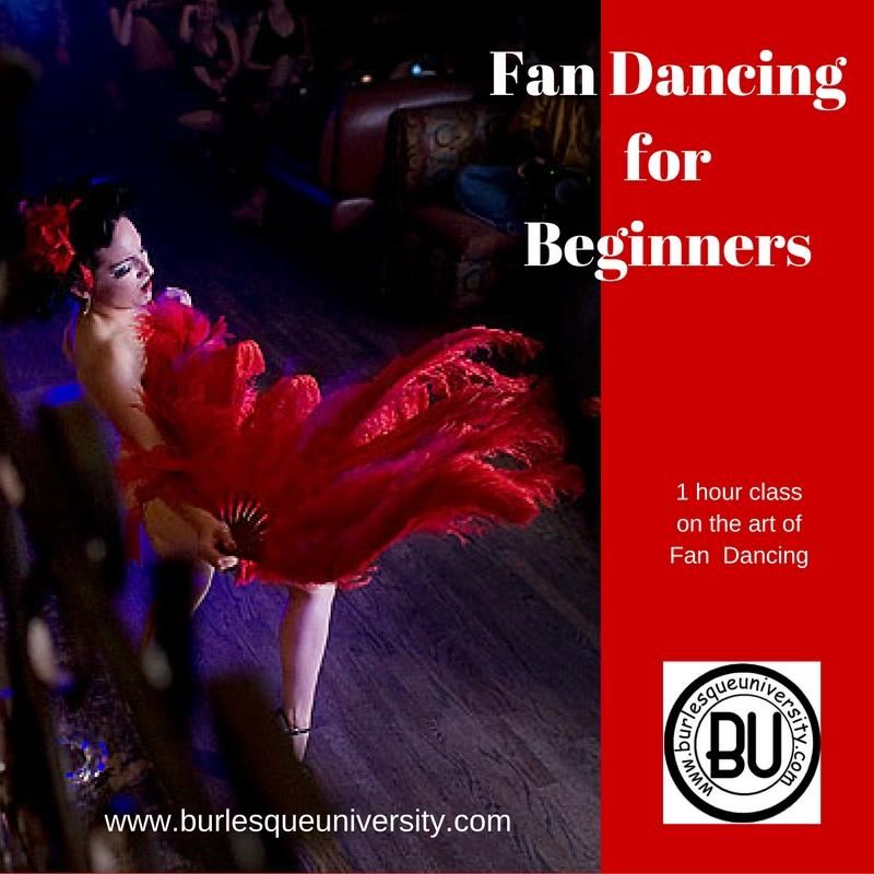Fan Dancing for Beginners