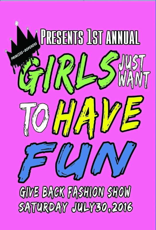 GIRLS Just Want To Have Fun Fashion Give Back