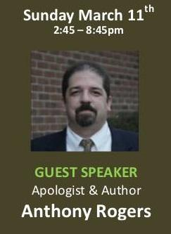Apologetics Conference (Anthony Rogers)
