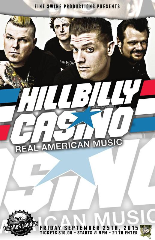 Hillbilly Casino LIVE at The Lizards Lounge
