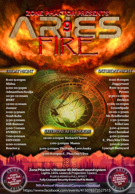 Aries FIRE 9th Annual Campout