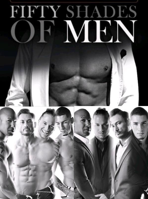 Fifty Shades of Men Male Revue