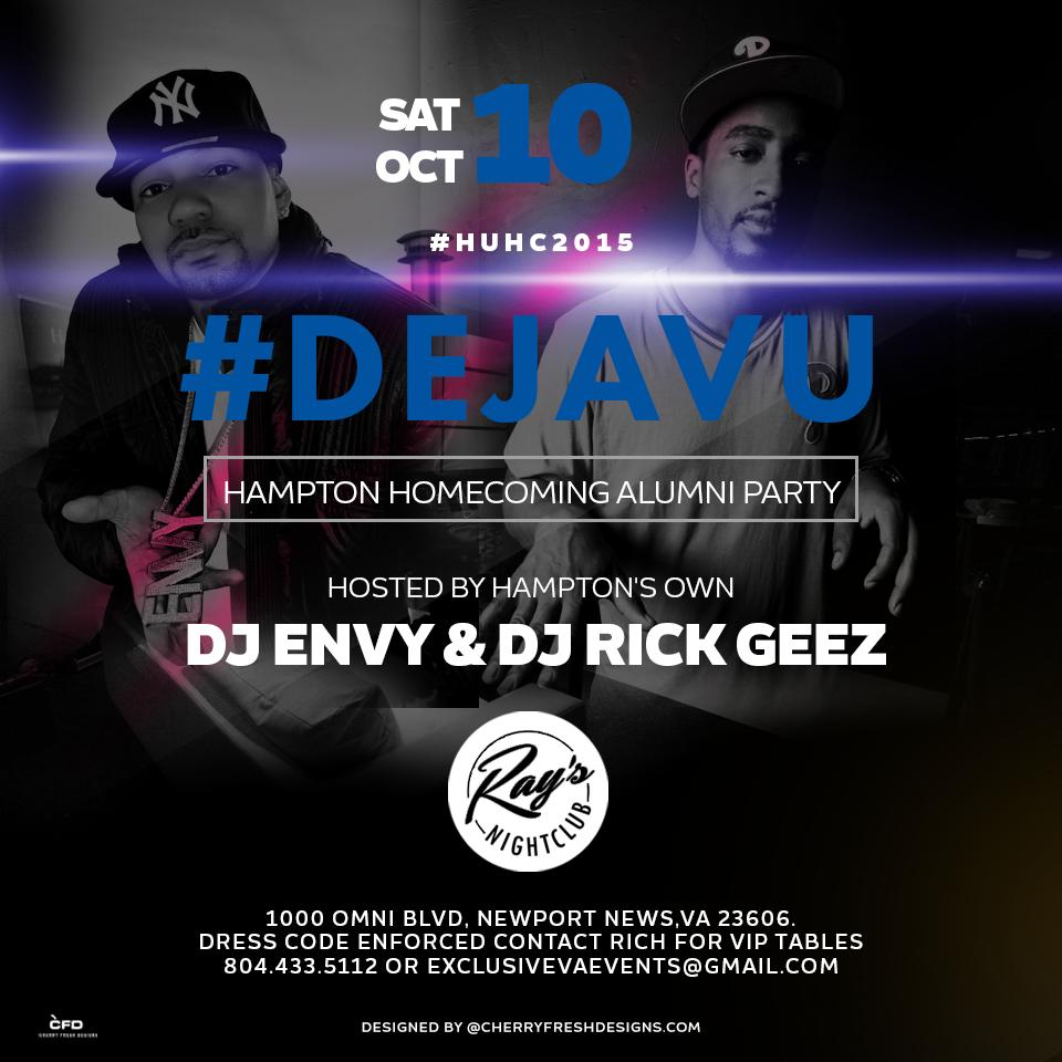 Déjà Vu - Hampton Alumni Party w/ DJ Envy