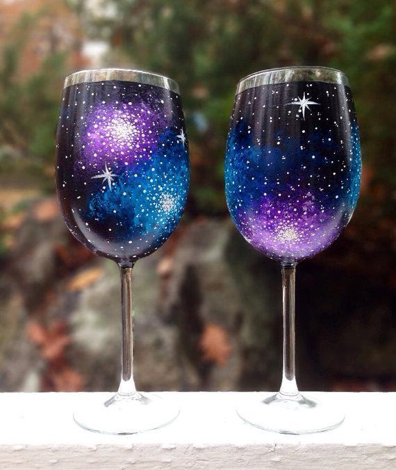 Wineglass Paint Nite 2