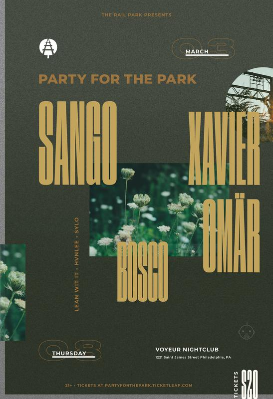 Party for the Park ft. Sango, Xavier Omär and Bosco