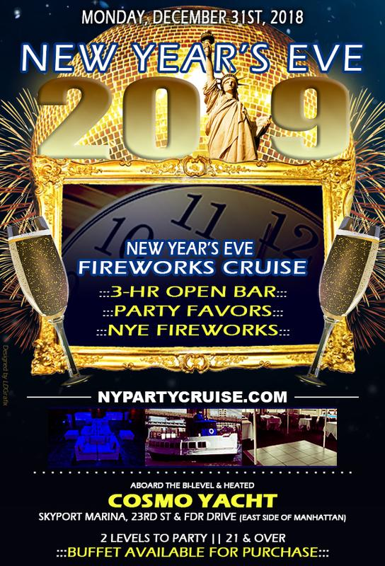 New Year's Eve Fireworks Dance Cruise (NYE31)