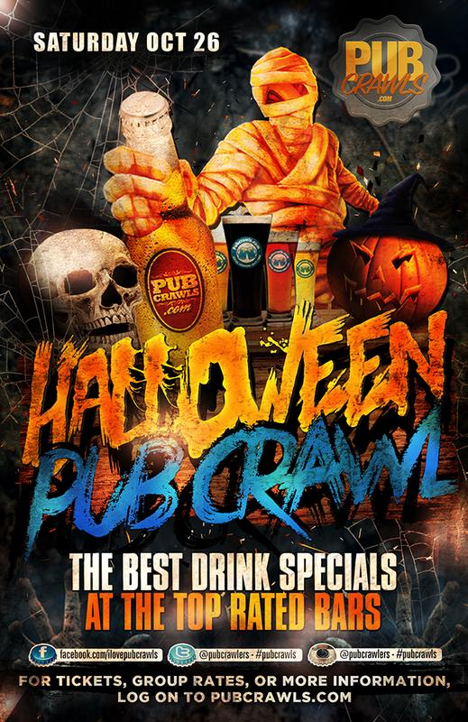 HalloWeekend 2019 Bar Crawl Albany