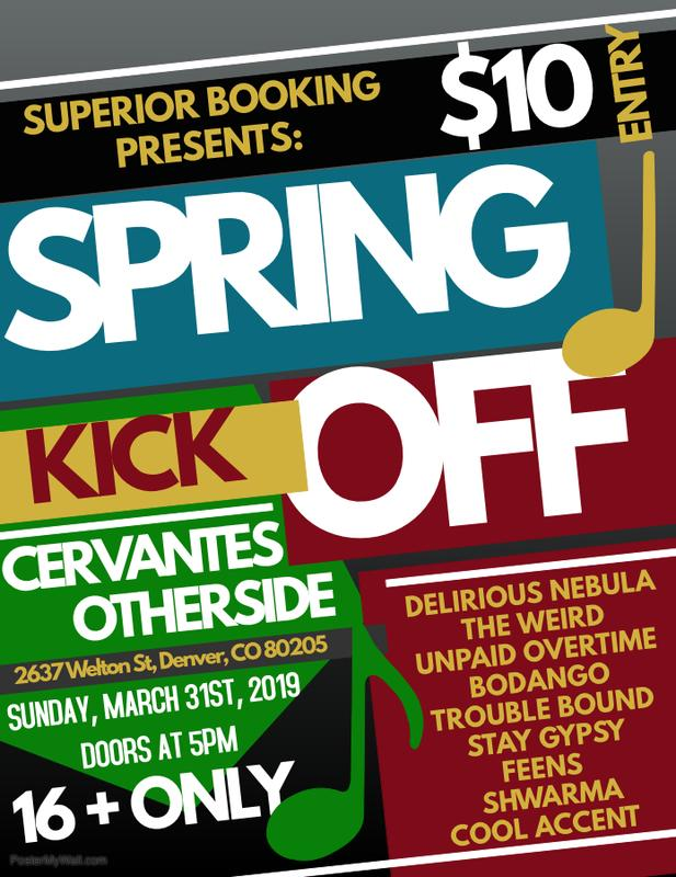 The Spring Kick-Off at Cervantes