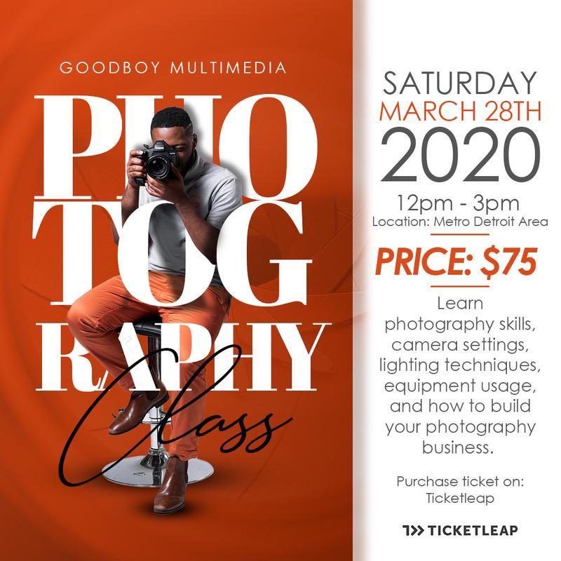 Goodboy Multimedia Photography Class