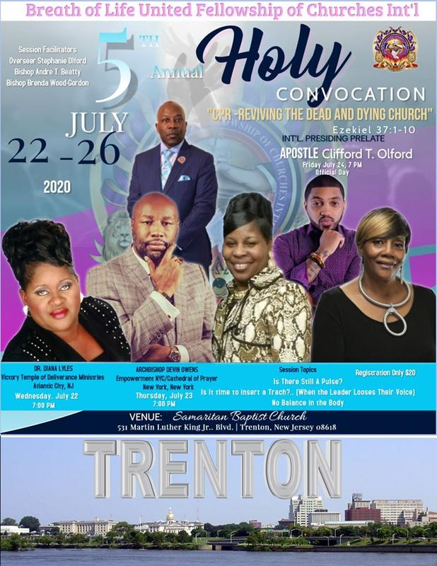 """5th Holy Convocation- """"CPR-Reviving Dead And Dying Church"""""""