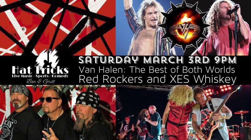 Van Halen: Red Rockers (Sammy Hagar) XES Whiskey (David Lee Roth)