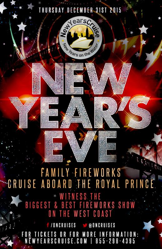 New Year's Eve Family Fireworks Cruise - Royal Prince