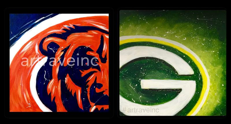 Chicago Bears / Green Bay Packers - Fat Man Bowl