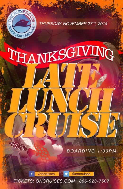 Thanksgiving Late Lunch Cruise