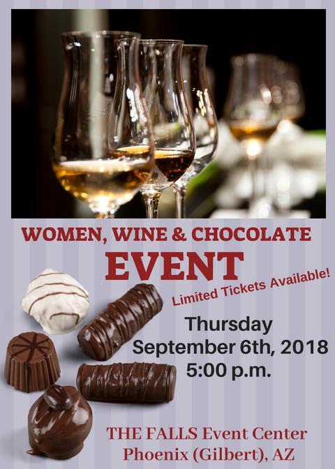 Women, Wine & Chocolate Phoenix