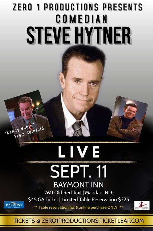 LIVE! Comedian Steve Hytner