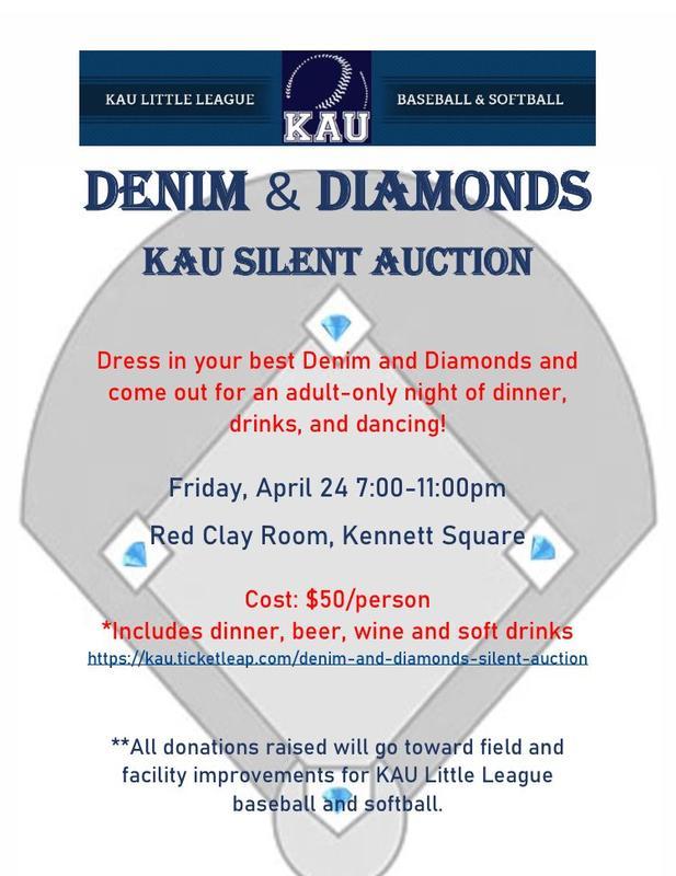 KAU Denim and Diamonds Silent Auction