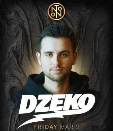 DZEKO @ NOTO Philly March 2
