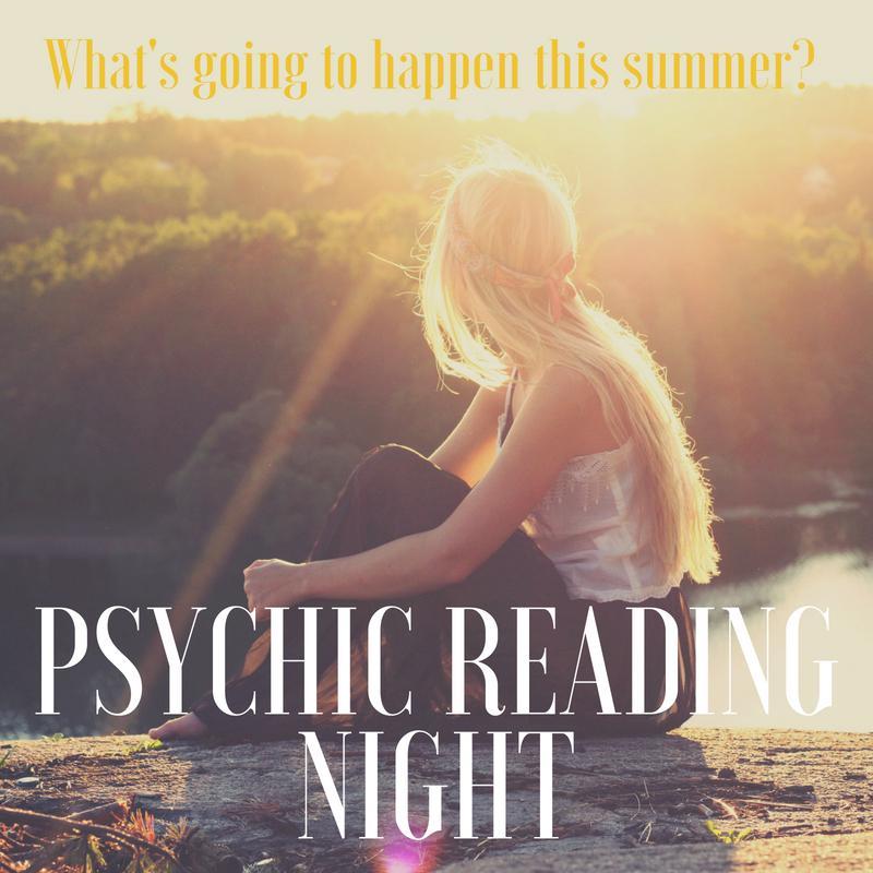 8/10 EVENT IS SOLD OUT - Psychic Reading Night, Mansfield, MA